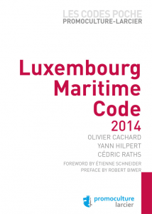 Luxembourg  Maritime Code 2014 9782879745848