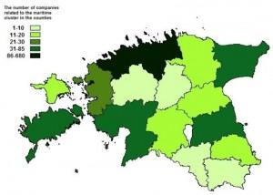 Estonian Maritime industry regional activity