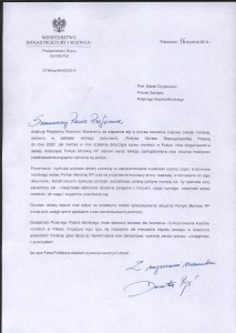 list z ministerstwa